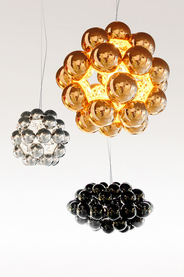 Beads Octo Gloss Black Pendant by Innermost