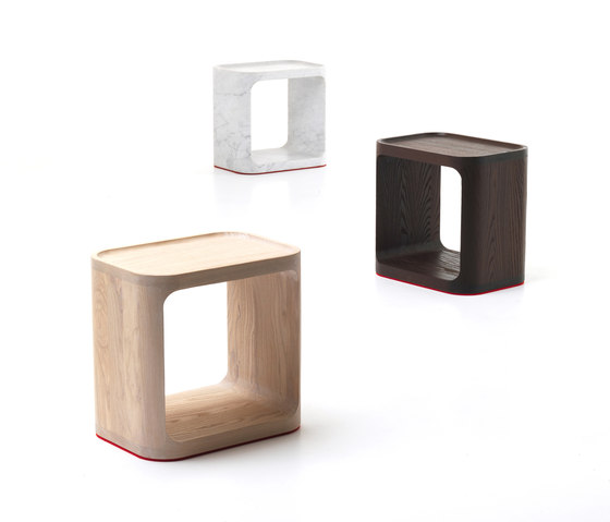 Plato Alto sidetable by Baleri Italia by Hub Design