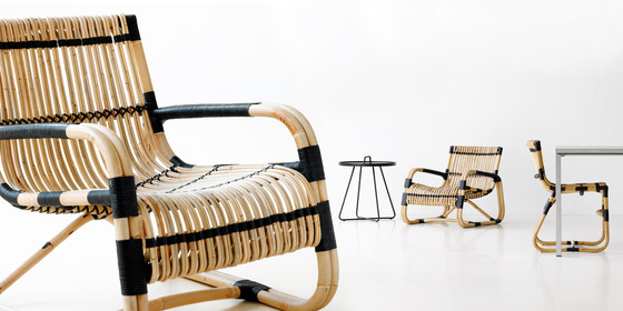 Curve Lounge Chair by Cane-line