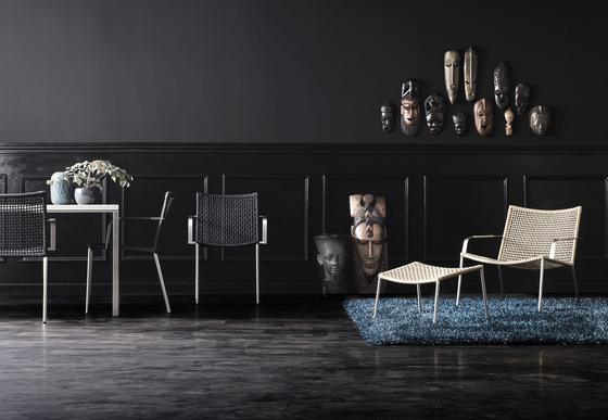 Straw Lounge Chair de Cane-line