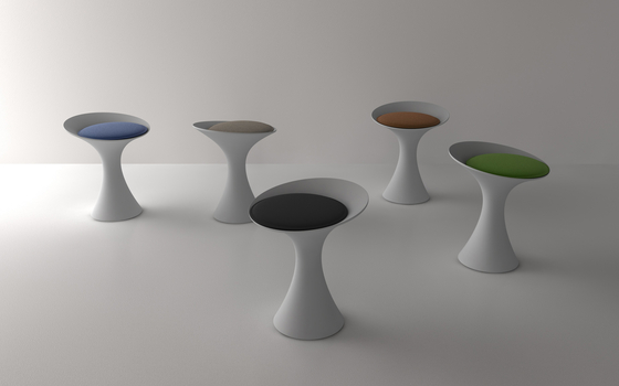Kalé  Stool by Living Divani