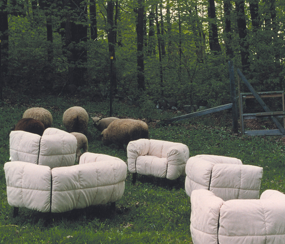 Pecorelle Armchair de ARFLEX