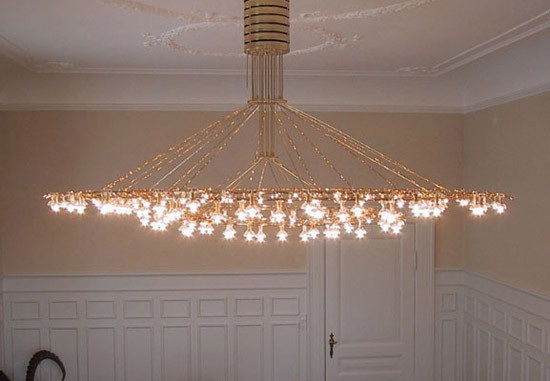 BORNEBUSCH chandelier de Okholm Lighting