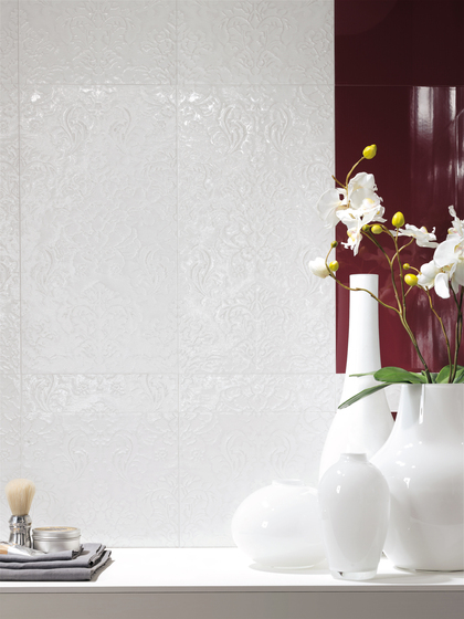 Visionary Esagono Rosa Verd Mosaico Listello* di Fap Ceramiche