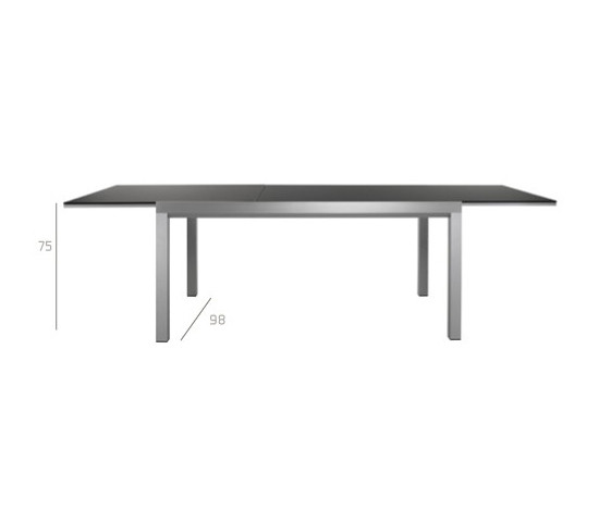 X-tend Table by Tribu