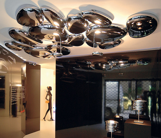 Skydro Ceiling Lamp by Artemide