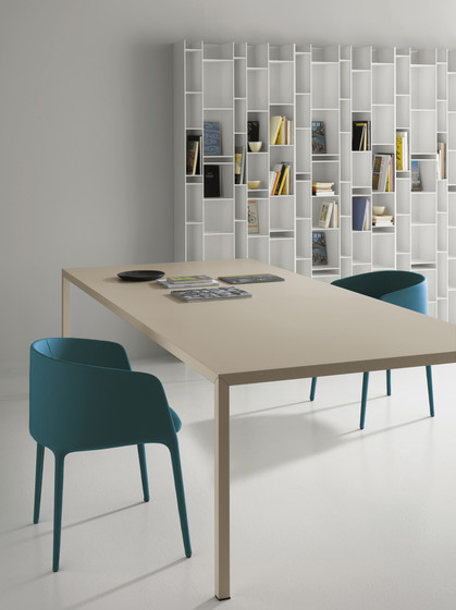 Steel Table di MDF Italia