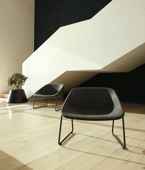 Kola stack RA upholstered by Inno