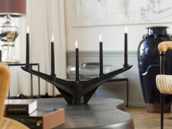 Paxton candleholder by Functionals