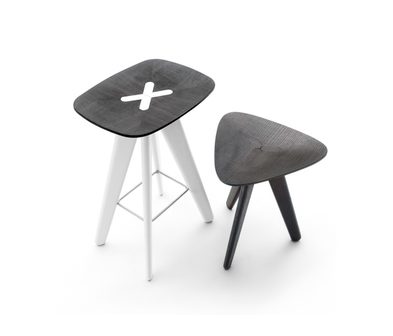 Ics stool by Poliform