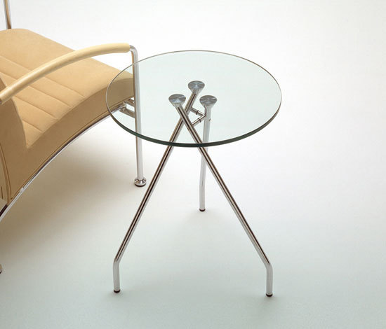 Forum glas table by Magnus Olesen