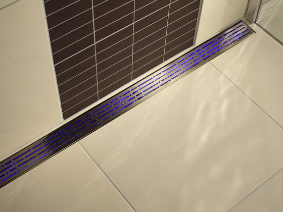 ACO ShowerDrain Lightline :Blue by ACO Haustechnik