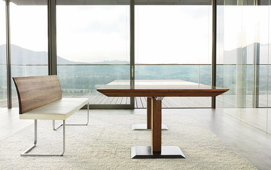 dining tables tables stretto table team 7 martin. Black Bedroom Furniture Sets. Home Design Ideas