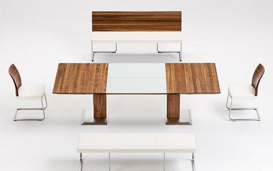 stretto tisch von team 7. Black Bedroom Furniture Sets. Home Design Ideas