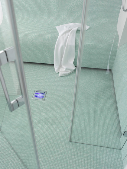 ACO ShowerDrain Badablauf eckig Quadrato von ACO Haustechnik