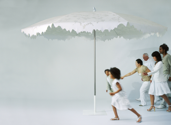 Shadylace parasol green by Droog