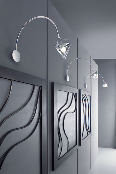Wedge Pendant light by LUCENTE