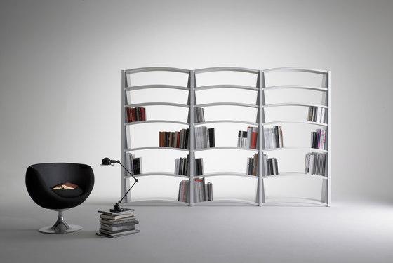 Chiave di Volta | Bookcases 6 shelves de Dieffebi