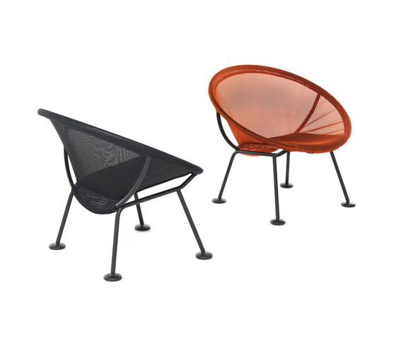 Take Off | poltroncina arancione di Skitsch by Hub Design