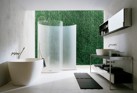 Vasca da bagno a doccia : Chiocciola de Agape Mamparas para duchas Architonic