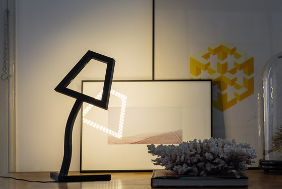 2D LED Floor Lamp by Skitsch by Hub Design