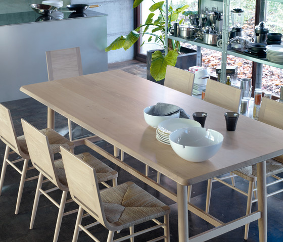 Kimua High Oval Table by Alki