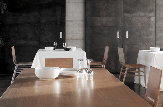 Kimua High Rectangular Table by Alki