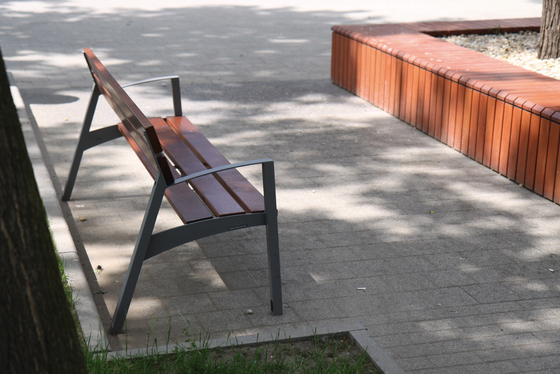 vera mini Park bench by mmcité