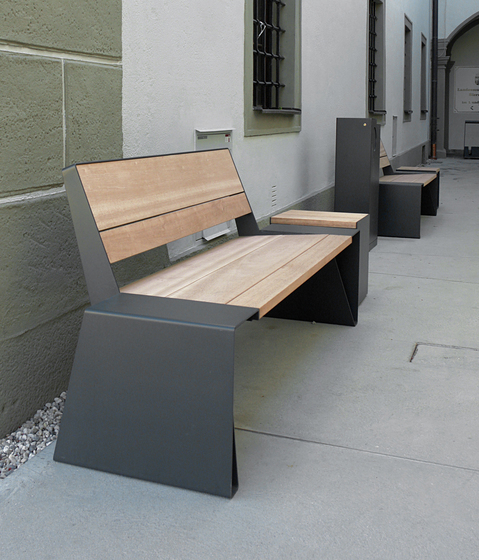 radium Park bench by mmcité