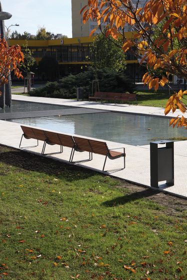preva urbana Park bench by mmcité