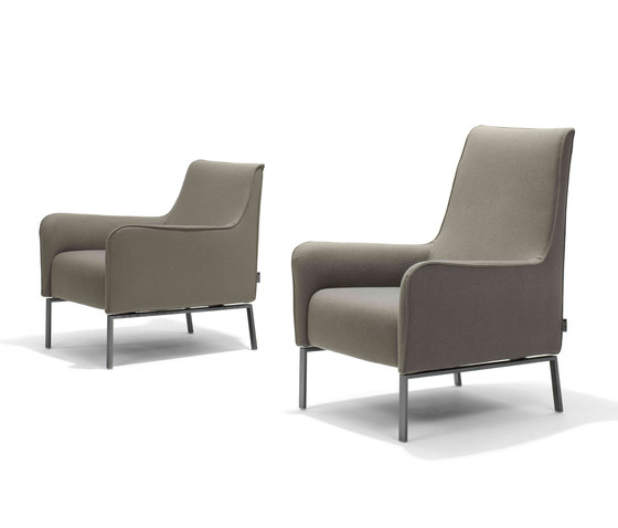 Romeo and Giulia armchair/footstool* di Linteloo