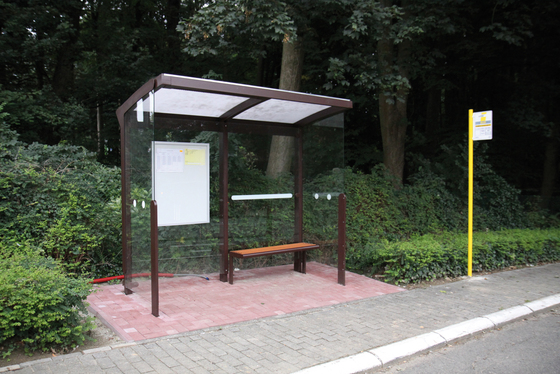 aureo Bus stop shelter by mmcité