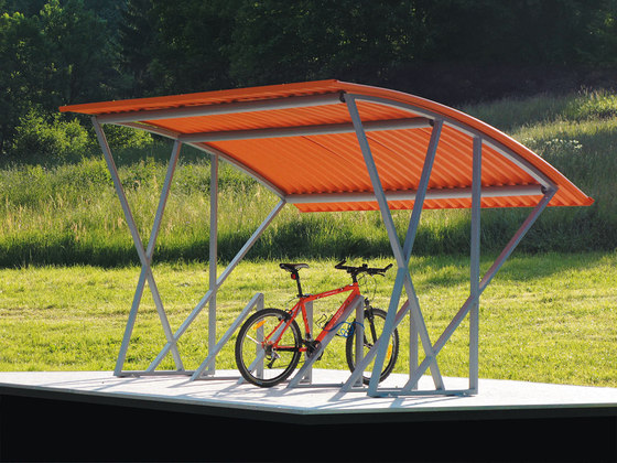 tyre Bicycle shelter di mmcité