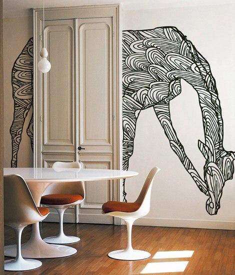 Wild Giraffe by Wall&decò