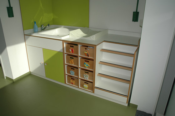 Changing Table Combination  DBF-322-10 de De Breuyn