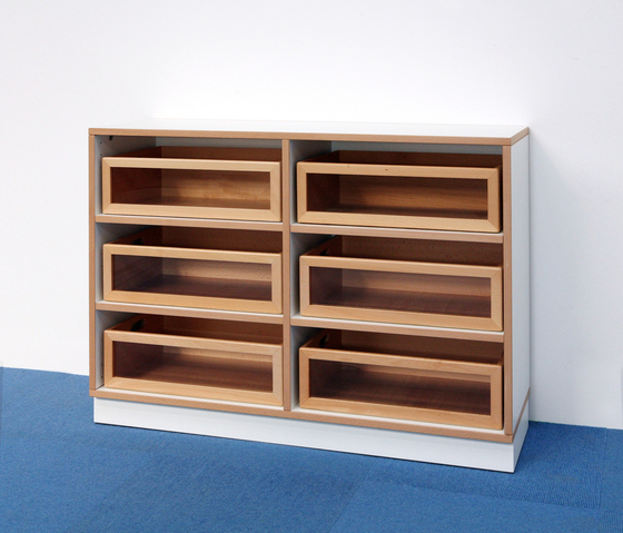 Shelf Unit H 76 DBF 604.W by De Breuyn