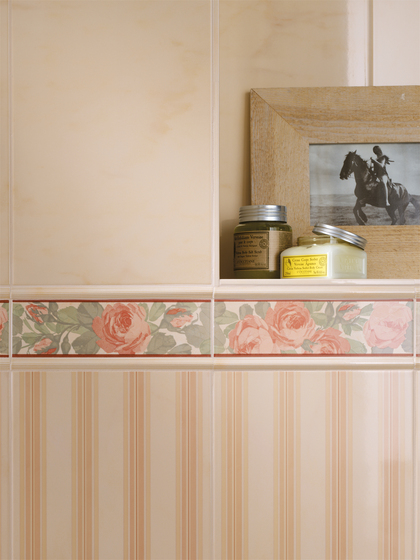 Splendida Rosa Pav. de Fap Ceramiche