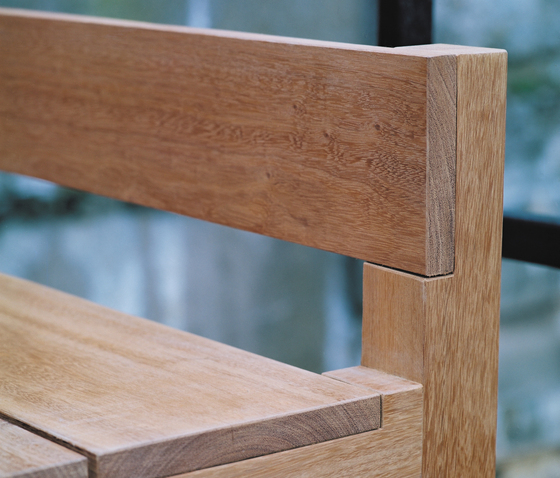 Bench And Table by Feld