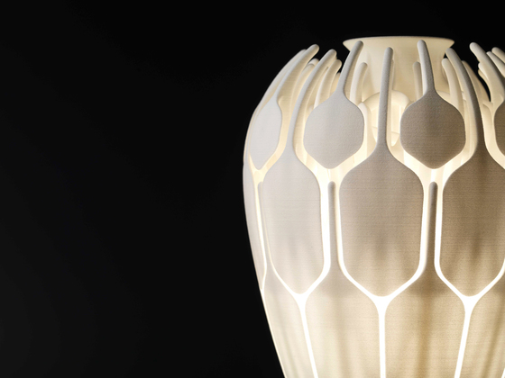 Bloom Table Lamp - Low Version von .MGX by Materialise