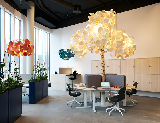 Leaf Lamp Pendant 130 cluster by Green Furniture Concept