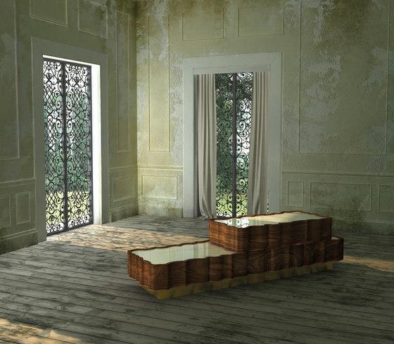 IL PEZZO 2 BEDSIDE TABLE by Il Pezzo Mancante