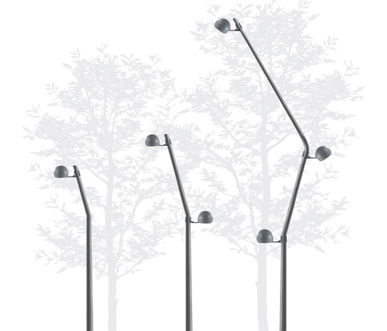 Smap Modular Public Lighting System by Lamp Lighting