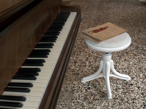 Piano stool by TON