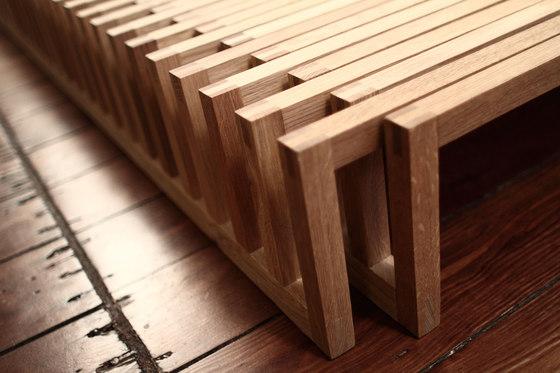 Yin Yang Bench by Andreas Janson