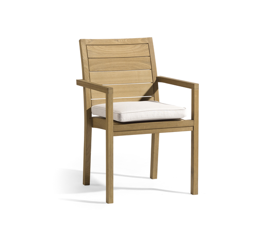 Siena square chair de Manutti