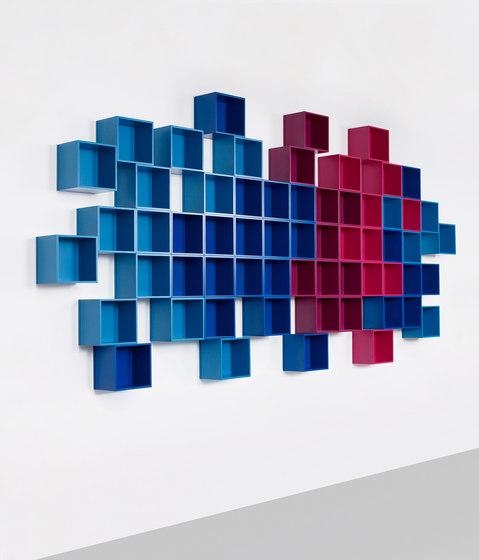 Cubit shelving system by Cubit