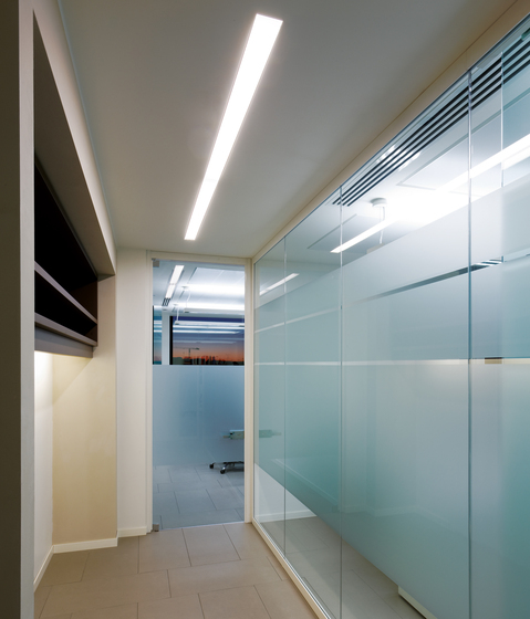 Nothing Recessed Linear System Wallwasher by Artemide Architectural