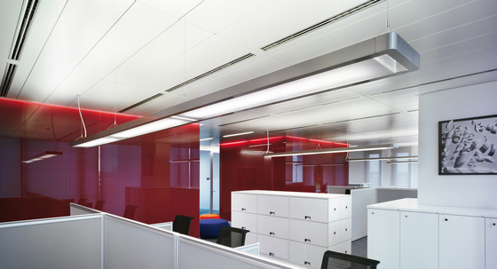 Esprit System direct/indirect by Artemide Architectural