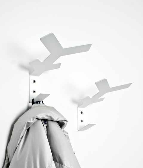 Flake wall hooks by Cascando