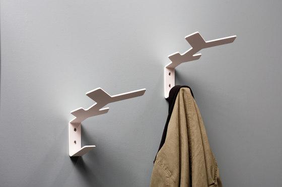 Flake wall hooks by Cascando